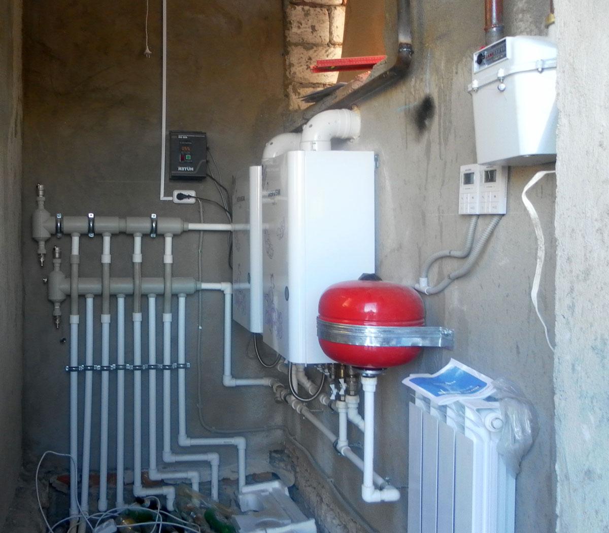 Как проще сделать отопление